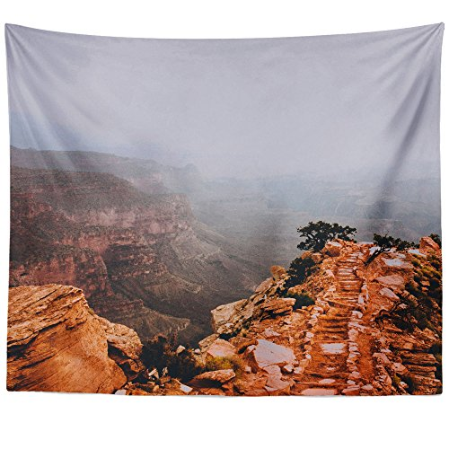 (Westlake Art - Fog Sky - Wall Hanging Tapestry - Picture Photography Artwork Home Decor Living Room - 68x80 Inch (4BF19))