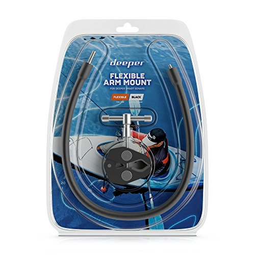 Deeper Flexible Arm Mount 1.0 – Easily mount Deeper PRO-series Fish Finder to Kayak / Boat in secs