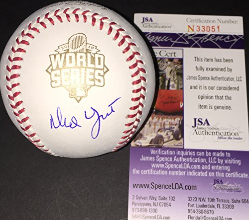 Ned Yost Kansas City Royals Autographed Signed 2015 World Series Baseball JSA COA by SidsGraphs