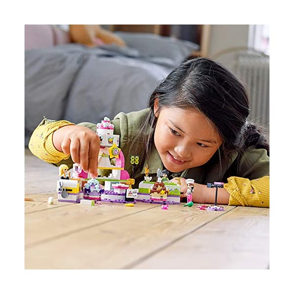 LEGO Friends Baking Competition 41393 Building Kit, Set Baking Toy, Featuring 3 Friends Characters and Toy Cakes (361…