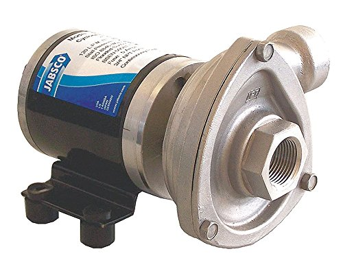 Jabsco 50840-0012 Marine High Flow Low Pressure Cyclone Centrifugal Pump, 29.7 GPM, 12 Volt