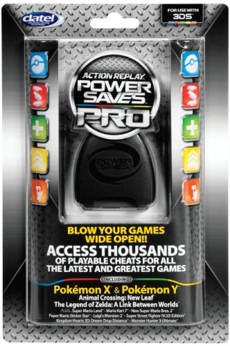 Datel Action Replay Power Saves Pro - Nintendo 3Ds (Pokemon Omega Ruby 2ds compare prices)