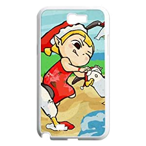 Samsung Galaxy N2 7100 Cell Phone Case White_The Legend of Zelda The Wind Waker Aryll_005 Mefgj