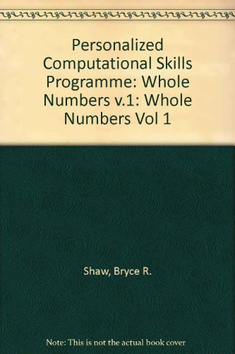 PCsp - Module a  Whole Numbers (Vol 1)
