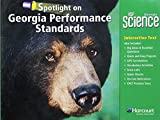 img - for Harcourt School Publishers Science Georgia: GA Spotlight/Performance Standard Student Edition Science 09 Grade 4 book / textbook / text book