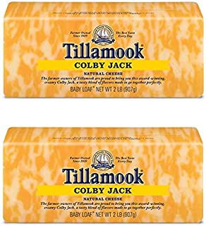 product image for Pack of 2 Tillamook Colby Jack Cheese 2 lb Loaves