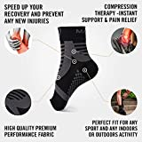 Mava Sports Ankle Compression Sleeve for Men and