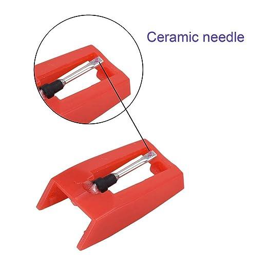 4 agujas de diamante, sistema de pastilla y aguja para agujas de ...