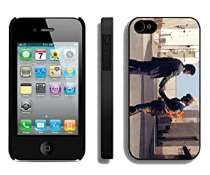 Beautiful And Unique Designed Case For iPhone 4 With Pink Floyd 2 Black Phone Case