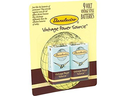 Danelectro 9-Volt Vintage Style Batteries (Danelectro 9v Batteries)