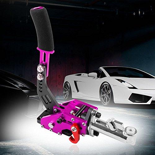 Brake Handle Hand (Universal Car Hydraulic Handbrake Racing Handbrake Drift Hand Brake Parking (Purple))