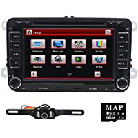 Tmaxlife Double 2 Din 7 Inch Size Car Stereo DVD GPS Nav Radio for VW Passat t5 Golf MK5 Jetta+ Camera