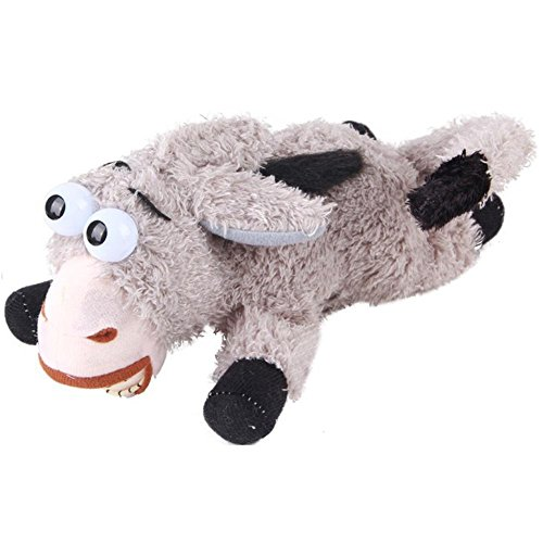 AxiEr Rollover Donkey Electronic Plush Rolling & Laughing Toy (Laugh Out Loud)
