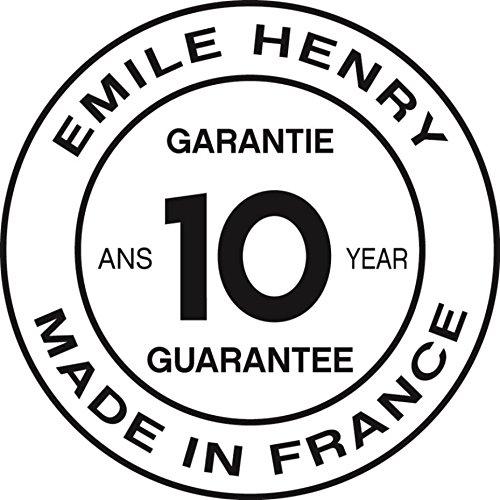 """Emile Henry Made In France HR Modern Classics Oval Baker, 14.2 x 9.4"""", White"""