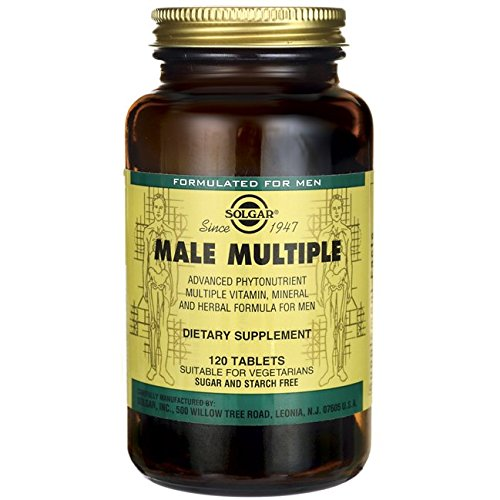 Solgar Male Multiple 120 Tablets product image
