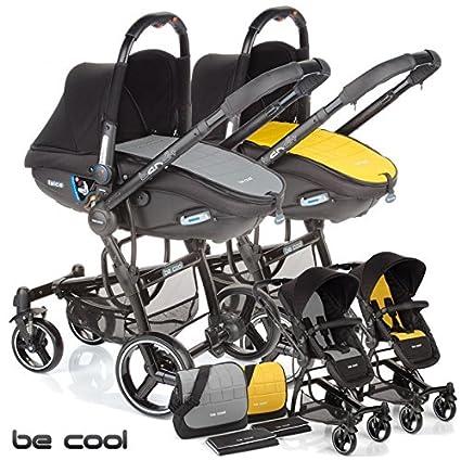 Be Cool - Coche de Paseo Dúo Bandit Twice gris/amarillo ...