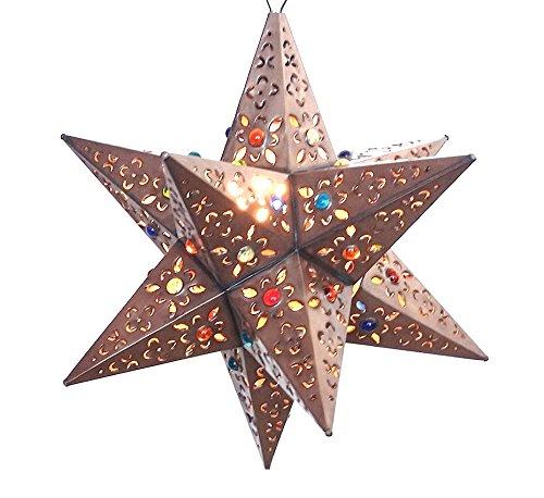 Tin Star Pendant Light in US - 4