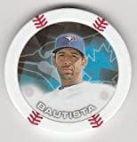 2014 Topps Poker Chipz Jose Bautista Toronto Blue Jays