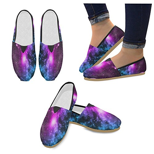 M-story Fashion Sneakers Flat Mare Wave Donna Classic Slip-on Canvas Mocassini Multi8