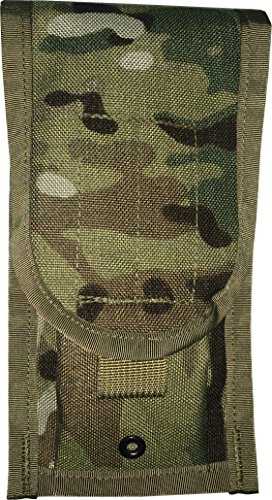 System M4 Double Mag Pouch - FireForce MOLLE II US Military Army M4 2 Double Mag Ammo Pouch, Brand New Made in USA (Multi Cam Black)