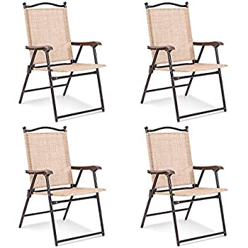 Amazon Com Mainstays Pleasant Grove Sling Folding Chair