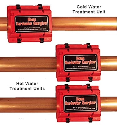 Heavy Duty Whole House Natural Hard Water Softener, Energized Structured Chemical-Free Soft Water