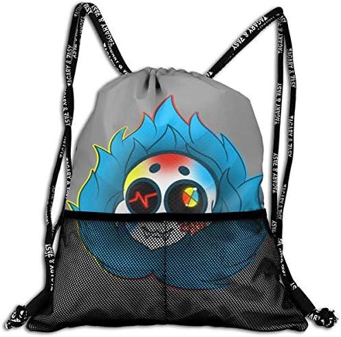 アンダーテール Undertale ナップサック アウトドア ジムサック 防水仕様 バッグ 巾着袋 スポーツ 収納バッグ 軽量 バッグ 登山 自転車 通学・通勤・運動 ・旅行に最適 アウトドア 収納バッグ 男女兼用 ジムサック バック