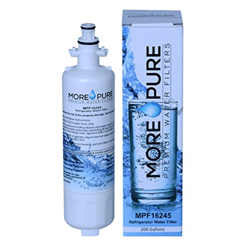 MORE Pure MPF16245 Refrigerator Water Filter Compatible with LG LT700P, Kenmore Elite 46-9690 by MORE Pure Filters (Image #7)