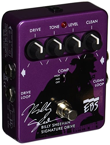- EBS Sweden AB Billy Sheehan Signature Drive Pedal Distortion Compressor