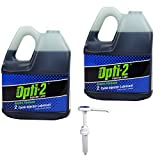 Opti-2 30044 (2) 1 Gallon Enviro Formula 2-Cycle Injector Lubricant with Pump