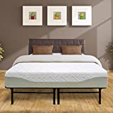 Best Price Mattress 11 Gel-infused Memory Foam Mattress & Dual-Use Steel Bed Frame/Foundation Set, Full