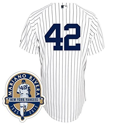 the best attitude 9c67f 818bb Amazon.com: New York Yankees Authentic Mariano Rivera Home ...