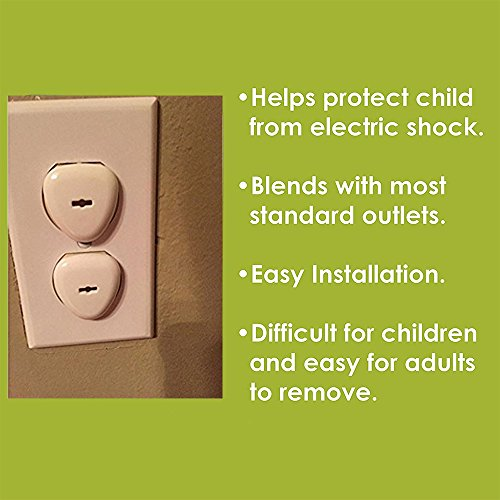 Outlet Covers - Baby Proofing Electrical Outlet Plug Covers For Kids Safety,Baby Child Proof Electrical Protector Safety Caps,Sturdy Childproof Socket Covers For Home & OfficeProtect Toddler (32 Pack) by Alysontech (Image #6)