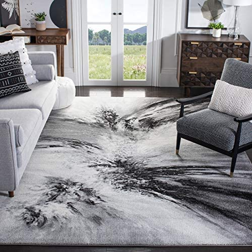 Reviewed: Safavieh Glacier Collection GLA127C Modern Abstract Non-Shedding Stain Resistant Living Room Bedroom Area Rug