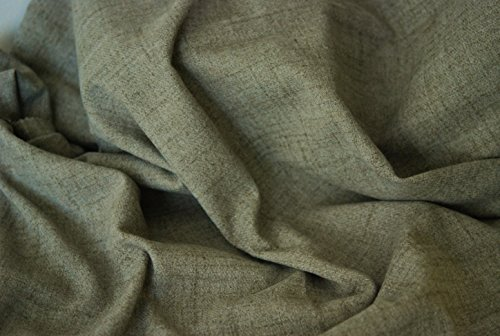 Aran Wolle Optik Ein wie Tweed Stoff - Mineral - 10Mtrs 1000cm x 150cm  1Mtr - 150cm x 100cm
