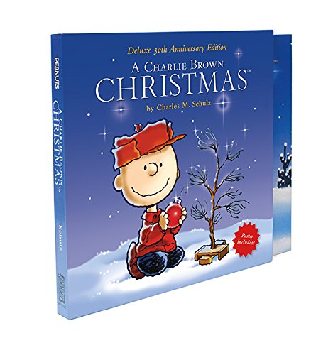A Charlie Brown Christmas Book.Peanuts A Charlie Brown Christmas Deluxe 50th Anniversary