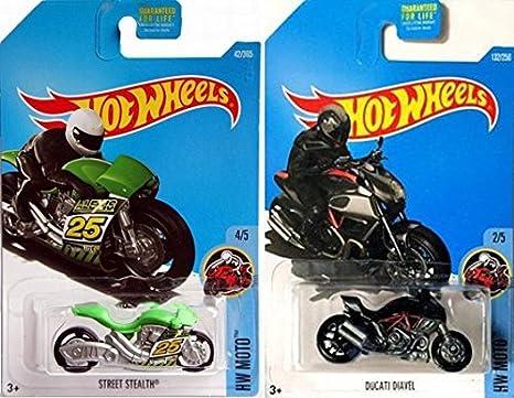 Buy Hot Wheels Moto Pack Ducati Diavel 132 Hot Wheels Street