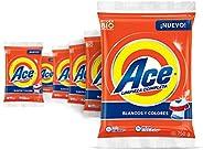 Ace Detergente En Polvo Uno Para Todo 6 Unidades De 750g,Total 4.5kg