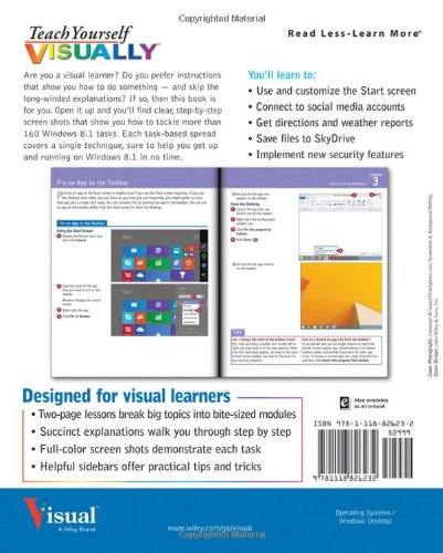 Teach Yourself VISUALLY Windows 8.1