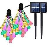2 Pack Solar Strings Lights, Lemontec 20 Feet 30 LED Water...