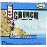 Clif Crunch Granola Bar Chocolate Chip (10 Two-Bar Pouches)