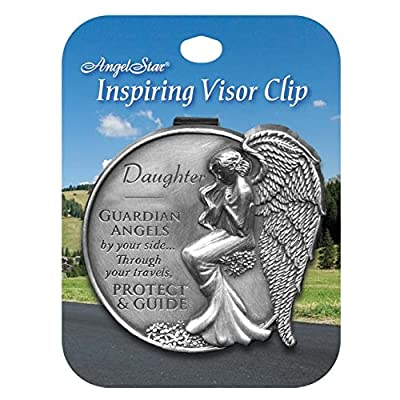 AngelStar 15682 Daughter Guardian Angel Visor Clip Accent, 2-1/2-Inch: Home & Kitchen