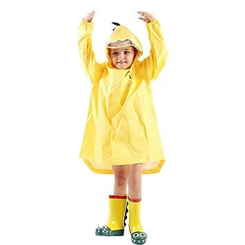 66d4c625a Kids Boy Girl Raincoat Rain Jacket Dinosaur Lightweight Rainwear ...