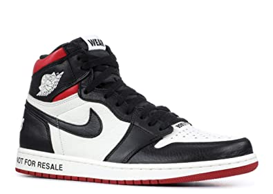 best sneakers ade7b 66249 Nike Men s Air Jordan 1 Retro High OG  Origin Story  Red White 555088