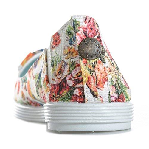 Womens Blowfish Gimmie Pumps in Mystic Garden Print i8gS40o2o