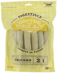 Better Belly Small Roll Bones, 5-6 Inch (20 Pack)