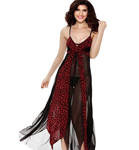 Eternatastic Womens Leopard Nightgown Skirt product image