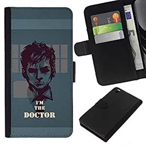 Leather Etui en cuir || HTC DESIRE 816 || Soy el doctor @XPTECH