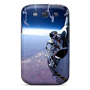 For Galaxy Case, High Quality Felix Baumgartner Space Jump For Galaxy S3 Cover Cases