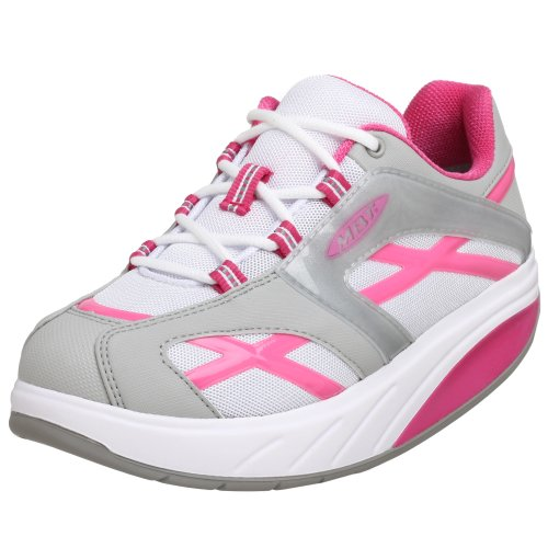 MBT Women's MWalk Sneaker,Pink,41 2/3 EU (US Women's 10.5 M) Mbt Fitness Shoes